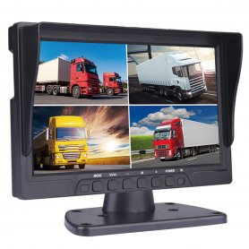 "4G / Wifi monitor10,1"" HD DVR pre 4 AHD/HD kamery s nahrávaním na2xSD karty + 2xUSB"