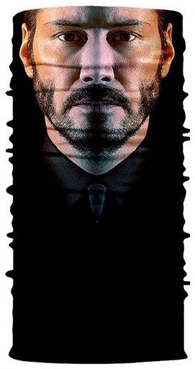 Bandana JOHN WICK (Keanu Reeves) - bufanda 3D en la cara o la cabeza