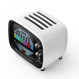 Enceinte LED Divoom TIVOO 256 RGB 6W - Prise en charge Bluetooth 5.0 + Carte TF et audio AUX