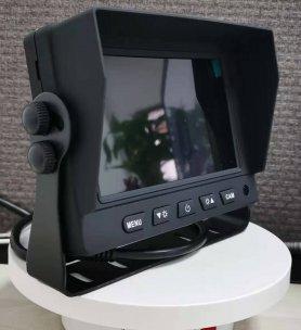 """Parkovací kamerový setAHD/CVBS LCD HD - 2CH hybridný monitor do auta 5"""" + 2x HD kamera s 11 IR LED nočným videním"""