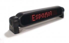 Auto LED programovatelný panel - 42 cm x 8,5 cm