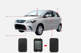 Vehicle tracker gps locator waterproof IP67 with magnet + battery capacity 6000 mAh + voice monitoring