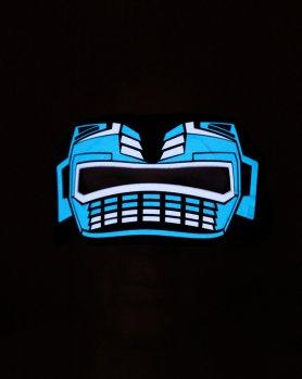 Rave máscara ULTIMO - sensible al sonido