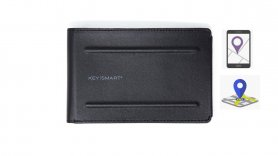 Card wallet with GPS locator and pen - Keysmart