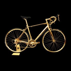 24K bike - Gold Racing