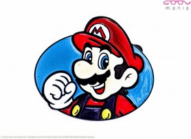 Belt buckle - Super Mario