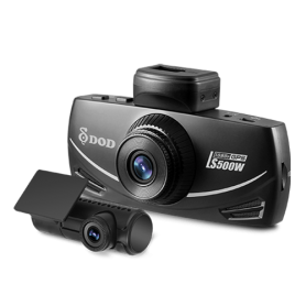 DOD LS500W - Car camera dual FULL HD 1080P resolution + GPS
