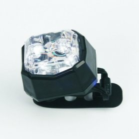 Cycle light - WHITE warning light​ for bike