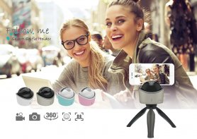 Follow Me - A selfie holder with automatic rotation of 360 °