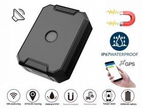 Vehicle trackergpslocator waterproof IP67 with magnet + battery capacity 6000 mAh +voice monitoring