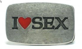 Pojasna kopča - volim seks