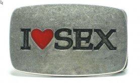 I Love Sex - Pracka opasok