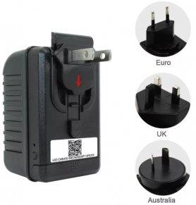 USB adaptér (nabíječka) se skrytou WiFi FULL HD kamerou + IR vidění 6m + detekce pohybu