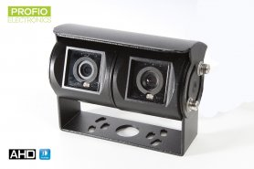 AHD dual reverse camera with IR LED night vision up to 15m