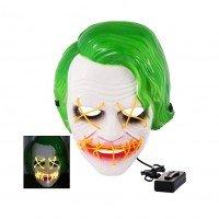 Joker maska - LED svítící na obličej