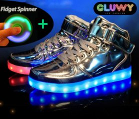 Lighting Sneakers - Silver