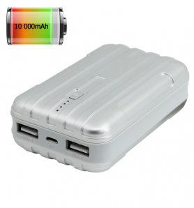 Power Bank with a capacity up to 10000mAh