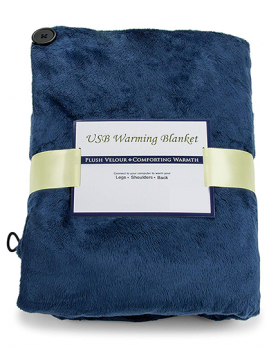 Heated blanket pad USB - 130x150cm