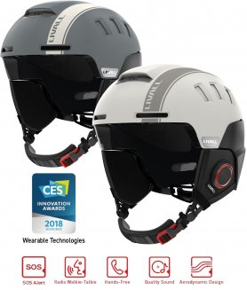 Smart lyžařská a snowboard helma - Livall RS1