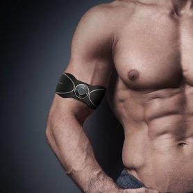 Stimulateur musculaire EMS 3 pièces pour ventre, épaules et jambes - Unisexe