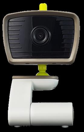 Baba monitor kamera és LCD + IR LED és kétirányú kommunikáció