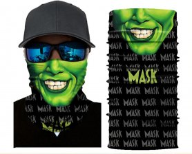 Face bandana or scarf - green MASK