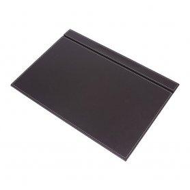 Шкіряні аксесуари для робочого столу - розкішний офісний набір 14 шт (чорна шкіра)