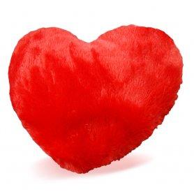 Fűtött szívpárna- melegítő párna plüssből