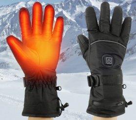 Отопляеми ръкавици за зимата (термо електрически) с 3 топли (топлинни) нива с батерия 1800mAh