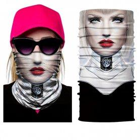 Foulard visage pour femme multifonctionnel - CRUELA DEVIL