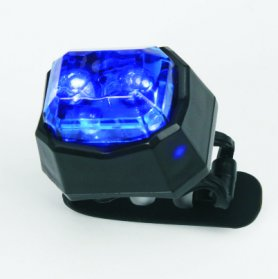 Best bike lights - BLUE warning light