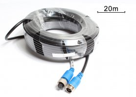 4-pin extension cable to the reversing camera with lenght 20m
