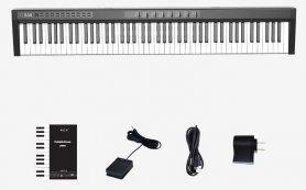 Elektronikus billentyűzet (digitális zongora) 125cm 88 billentyűvel + bluetooth + sztereó hangszórók