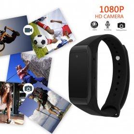 Sport karkötő rejtett Full HD kamera és óra