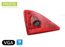 Parking camera integrated in third brake light 170° and IR up to 5m