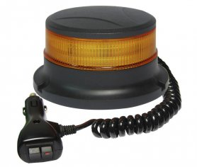 LED beacon on a car with the low profile 48 x 0,5W with a magnet