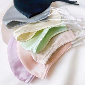 Máscaras de lujo Diseño 100% exclusivo - Color crema