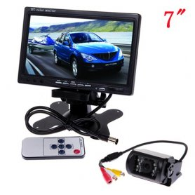 Wifi Reversing Camera with 15 IR LED LCD Monitor + 7""