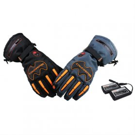 Heated gloves for winter with a 5600mAh battery - Adjustable