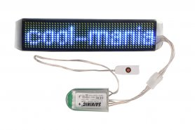 Tira LED programable blanca flexible 3,5 x 15 cm con Bluetooth