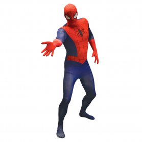 Morph costume Spiderman per Halloween o Carnevale
