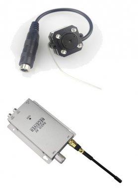 Pinhole camera with WIFI image transmission
