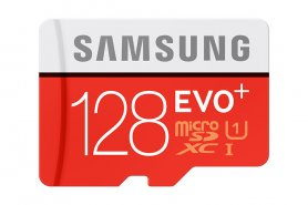 Adapter Samsung SDHC Micro SDXC 128 GB EVO Plus + SD