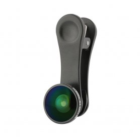 Мобільний об'єктив камери з кліпом - риб'яче око