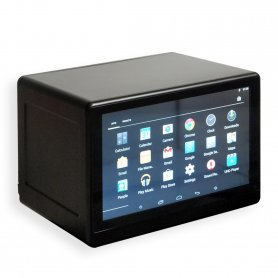 "Vetrina LCD trasparente da 10,1 ""con touch screen + WiFi + Bluetooth"