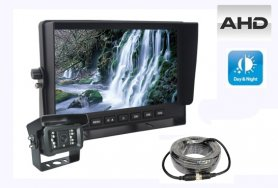"AHD parkovací set LCD monitor do auta 7"" + 1x kamera s 18 IR LED"