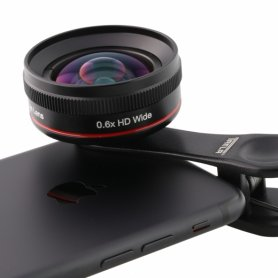 Universal wide-angle lens 0.6X for mobile phones