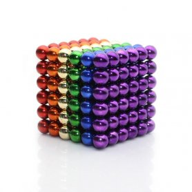 Bile magnetice anti-stres Neocube - colorate de 5mm