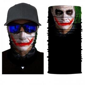 ジョーカーの頭と顔の多機能スカーフ