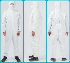 Protective clothing - full body disposable coveralls